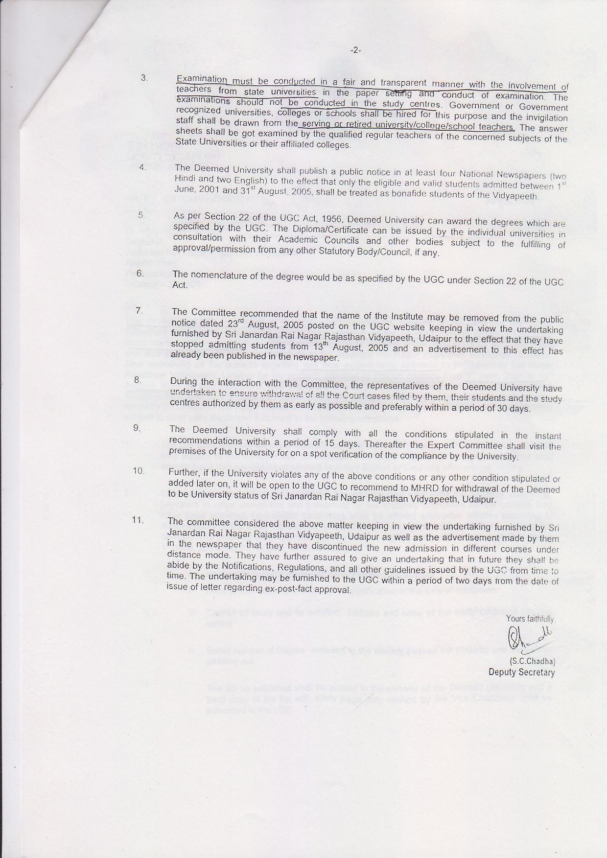 Janardan rai nagar rajasthan vidyapeeth deemed university udaipur janardan rai nagar rajasthan vidyapeeth deemed university udaipur 331401rajasthan rvduniversity gives unauthorized fake degrees rti yelopaper Image collections